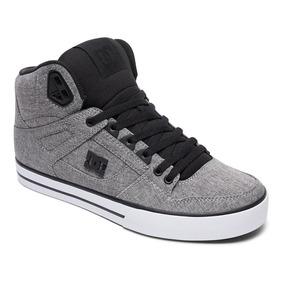 Tenis Caballero Spartan Hi Txse M Shoe Bhe Gris Dc Shoes