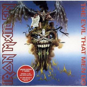 Iron Maiden The Evil That Men Do Vinilo Imp Single 7 Stock