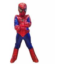 Disfraz Spiderman O Hombre Araña Niño Envío Gratis