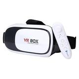 Gafas De Realidad Virtual 3d Vr-box Con Control