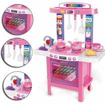 Juguete Mi Primer Cocina Nena Infantil 34 Accesorios Love