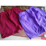 2 Shorts Modeladores Feminino Demillus Tipo Meia Calça 150