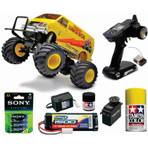 Tamiya Radiocontrol Lunch Box Kit Completo ! P/armar 2.4 Ghz