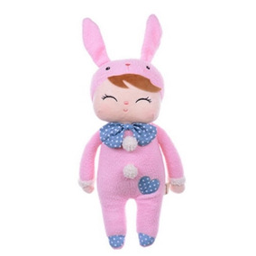 Boneca Metoo Original Bunny Pink Rabbit Doll