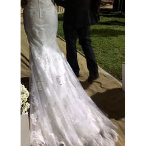Vestido Noiva Com Cristais Swarovski