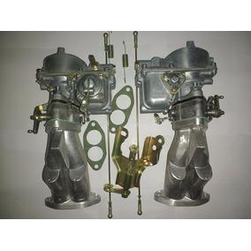 Kit Solex H40/44 Eis Coletor Acionamento Fusca Buggy Vw Puma