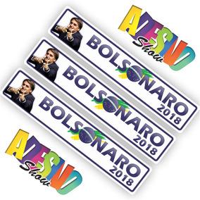 Adesivo Bolsonaro 2018 Carro, Moto, Caminhão, Política