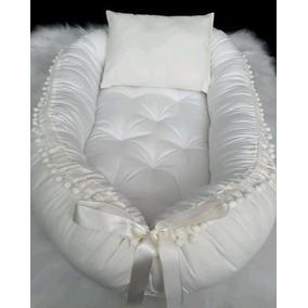 Ninho Para Bebê Dormir + Travesseiro Varias Estampas