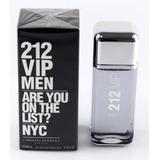 Perfume Carolina Herrera Ch 212 Vip 200 Ml Men