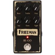 Pedal Friedman Be Od Overdrive Novo C/ Nota Fiscal Garantia