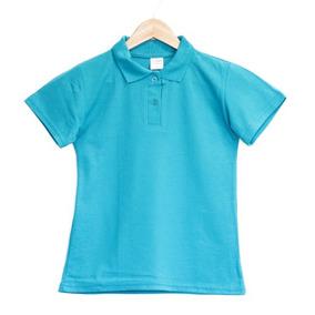 92401464da 10 Camisas Gola Polo Feminina Adulto Malha Piquet - Atacado