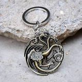 Games Of Thrones Casa Targaryen Llavero Collar