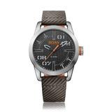 Reloj Hugo Boss 1513417 Cuero Gris Hombre