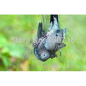 Rede Neblina Névoa Captura Pássaros Morcegos 13x2,5 19mm