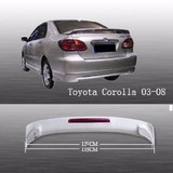 Toyota Corolla 03-08 Aleron Con Luz De Led