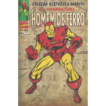 Colecao Historica Marvel 03 Homem De Ferro Bonellihq 3 Cx43