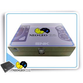Caixa Console Neo Geo Neogeo Cdz Em Mdf Capacidade 6 Jogos