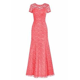 Vestidos Elegantes Largos, Grados Y Matrimonios De Encaje