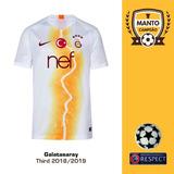 Camisa Galatasaray Uniforme 3 Lincoln Tamanho G - Futebol no Mercado ... 70d60ae0a81df