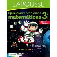 Ejercicios Y Problemas Matematicos Libro 3o Primaria Tercero