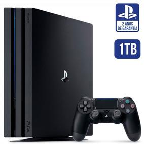 Video Game Ps4 Pro 4k 1 Tb Playstation 4 Pro 1 Tera Novo Lac