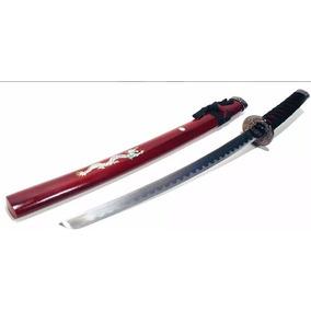 Espada Katana Samurai Preto Dragon 79cm
