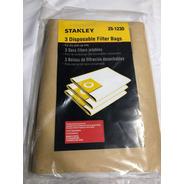 Bolsa Para Aspiradora Stanley 19 Lts - 3 Unidades - Original