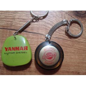 Chaveiros Antigos Motores Yanmar Diesel Promocionais Anos 70