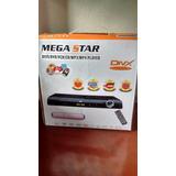 Aparelho Dvd Mega Star Divx/dvd/vcd/mp3/mp4