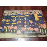 Poster Boca Juniors Sub Campeon 1958 Ideal Decoracion