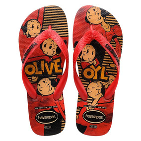 Sandália Original Personalizada Popeye / Olivia