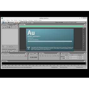 Grabacion Adob Audition .3 Mix Masterizer + Vst Pro