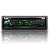 Autoestéreo Kenwood Kdc-265u Radio Fm Cd Usb Din Multicolor!