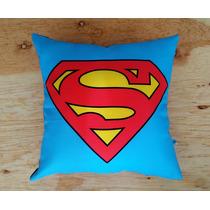 Cojín Infantil Superman Superhéroes Niños Dc Comics Regalo