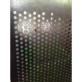 Lamina Microperforada Acero Al Frio 55x165 Circular 5 Mm