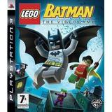 Lego Batman The Videogame Ps3 Fisico Nuevo Sellado