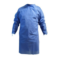 80 Batas Desechable Spunbond Azul 40g.