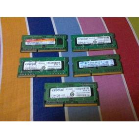 Memorias Ram Ddr3 De 1gb Y De 2gb Usadas