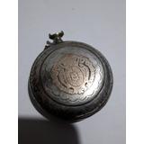 Antiguo Reloj De Bolsillo Plata Y Oro
