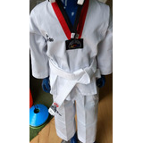 Uniforme De Taekwondo Daedo Original Reconocido Wtf Nuevos