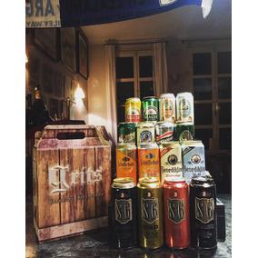 Caja Estuche Regalo Cervezas Importadas Original Exclusivo