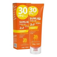 Protetor Solar Com Repelente De Insetos Fps 30 Uva/uvb
