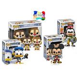 Kingdom Hearts Set 4 Piezas Funko Pop Video Juego Disney Cf