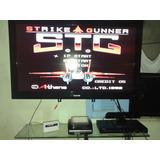 Fita Snes - Strike Gunner Stg - Simulador - Aviao