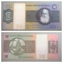 Nota Dinheiro Antigo 10 Cruzeiros