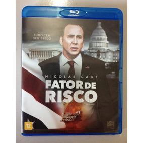Fator De Risco Blu Ray - Nicolas Cage