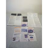 Manuales De Juegos De Game Boy Advance. $50 Cada Uno!!