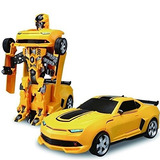 Transformer Bumblebee Autobots Con Control Remoto 26 Cms