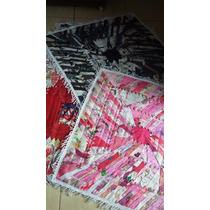 Tapetes Quadrado Colorido 80x80cm Promoção 10 Peças Retalhos