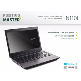 Notebook Positivo Master N110i Escovado ( Outlet )